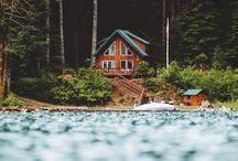 domčeky v prírode