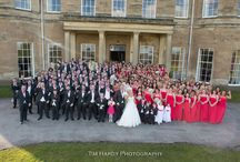 World Record Wedding / Alex and Amy's record breaking wedding at Rudding Park with 130 bridesmaids and 100 groomsmen