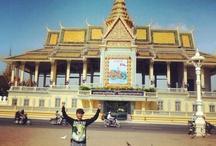 Phnom Penh / We Arrived at Royal Palace