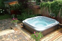 Outdoor jacuzzi ideas
