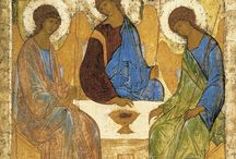Holy Trinity / The Sunday after Pentecost is celebrated each year as Trinity Sunday, a day on which the church meditates on the mystery of our God, one divine unity of three distinct presences. Each way that we speak about the Trinity is inadequate. Indeed, a god we could understand wouldn't be much of a god!
