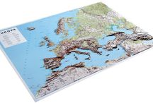 Europe Maps / Maps of continental Europe to grace any boardroom or sitting room wall.