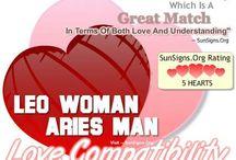 Aries+leo=love