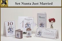 Set nunta Just Married