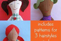 Sewing Plushy and Rag doll DIY / Plushy DIY tutorial and patterns