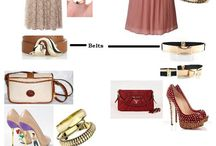 Outfitted! / Outfits that I just love. Accessorized with the perfect shoes, bags and of course jewellery!