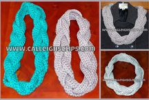 Crochet - scarf / These are tried and true patterns for scarves