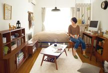 Interior for one-room living