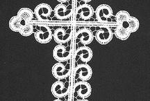 Bobbin and Needle lace, merletto a tombolo / merletti