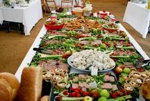 Party Decor and Food Setup Idea Board