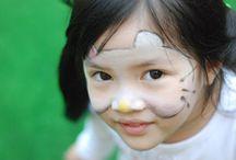 Malowanie ciała / Body painting / Szeroko pojęte malowanie ciała, czyli malowanie twarzy, pleców, czy też rąk
