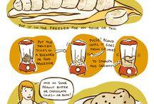 recipes / by Stefanie Flores