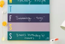 Kids Decor and Organisation Ideas / Products from Chart Noticeboards for kids decor and organisational needs