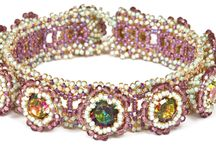 Melanie Potter / Collection of beadwork designed and hand woven by Melanie Potter