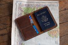 Leder Passschützer
