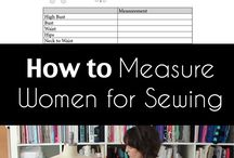 measuring and sewing tips
