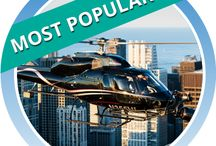Vertiport Chicago VIP Helicopter Tours / Why spend hours by foot when you can kiss the sky and skim the beautiful skylines of Chicago's visually exploding, iconic landmarks from a private or shared tour helicopter experience.