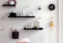 Shelves and storage ideas