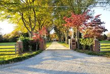 Mt Samson driveway ideas / Options for driveway on acreage