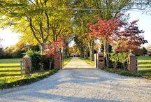 Mt Samson driveway ideas / Options for driveway on acreage