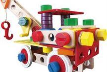 Bygge og konstruktions legetøj