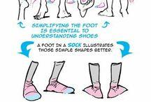 foot tutorial