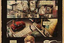 Comic city scapes