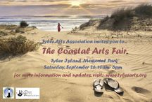Tybee Arts Ads / Advertisements for Shows, Sales, Productions and Fairs
