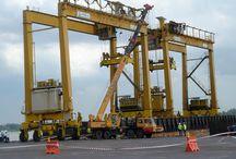 Ellsen high quality and low price port gantry crane for sale