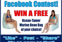 Ocean-Tamer Contests! / Keep up with all Ocean-Tamer Marine Bean Bags contests here on Pinterest and on Facebook at www.facebook.com/oceantamer900