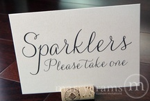 Sparkler Signs and ideas