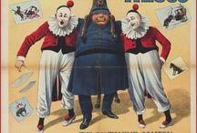 Manifesti del circo d'epoca
