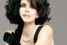BLACK tie / Never be afraid to add a little Glamour to your life!