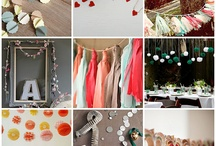 garlands/bunting / by Andrea Lyons
