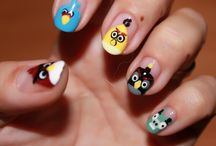 Nail art creations / Nail art done by co-blogger Sherri Tully.