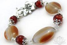 Jewelry Inspirations - Red/Pink/Orange/Purple / by Eleonor