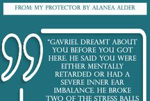 Quote of the Week / Quotes from books written by Alanea Alder.