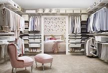 WIC - Walk in closet / Elfa is offering flexible interior products and made to measure sliding doors.