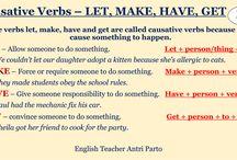 Causative Verbs - Let. Make.
