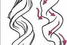Как рисовать волосы ( аниме  )