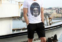 Erkek T-shirtler