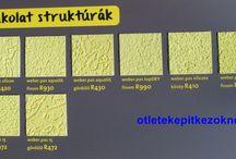 Vakolatminták / Nézd meg közelről az egyes színeket, struktúrákat!