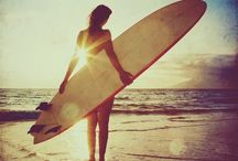 One day I will surf the waves !!! / Love to surf