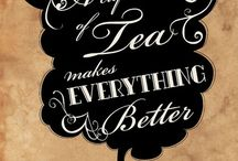 Tea & Coffee, & all things yummy that go with it! / Tea, coffee, places to drink it, treats to eat with them, tea pots, mugs, teacups & saucers.  / by Laurell K Hamilton