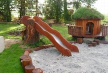 Let the children play outside / Outdoor playspaces