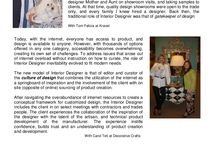 Culture of Design - The Modern Interior Design