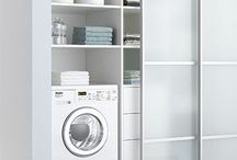 Laundry doors