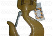 Carlig rotativ cu siguranta Crosby® model L 322 AN forjat - calit si temperat