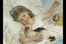 Кото-живопись / Кошки в картинах
