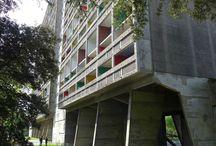 maison radieuse, le corbusier, Rezé / maison radieuse, le corbusier, Rezé, France